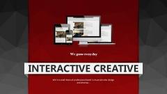 【超动画 聚划算】红加黑低面设计典型模板