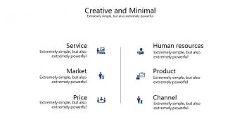 【精致商务】现代简约商务演示模板示例7