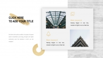 素白铂金高端商务总结策划提案通用模板示例4