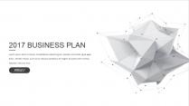 【耀你好看】点线灰白精致商业计划书