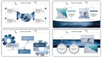水纹-大气简约通用商务报告策划模板示例5