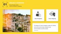 【你是真的黄】设计感商务实用多用途模板2示例3