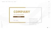 【商务】白色金色年终总结汇报&述职工作通用模板39