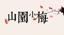 这是一套中国风模板3——美如画【山园小梅】