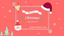 可爱卡通圣诞节通用模板-产品促销、节日庆祝