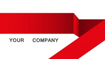 红色激情——欧美时尚大气图文混排工作总结报告PPT