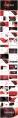 【未来】红色抽象商务汇报ppt模板示例3