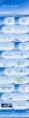 【动画】星空山脉蓝年度工作总结模板示例6