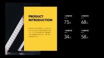 【商务】黑黄黑红商务汇报总结通用模板2示例5