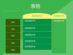 绿色清新现代商务Keynote模板示例6