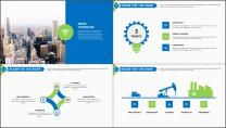 【高大上】精致经典企业公司工作必备PPT-双配色示例5