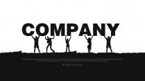 简约时尚高端灰企业策划公司宣传培训讲座计划总结