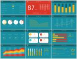 [兩種配色]Excel可編輯商業圖表第二季示例4