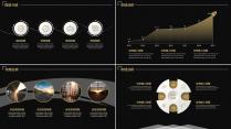 【动态】黑金大气商业计划书PPT模板示例5