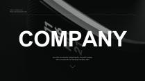 【直率】直男风简约商务公司介绍ppt模板02