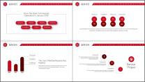 【商务大咖】大气简约公司企业工作策划方案汇报PPT示例5