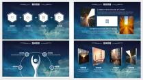 【动态】IOS风格超实用大气简约图形化商务报告26示例4
