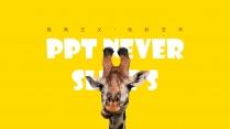 【极简主义】疯狂动物&欢乐黄色艺术&创意多图文杂志