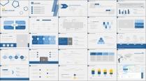 【轻设计】简约但实用的商务素色模板23示例6