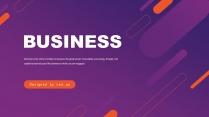 橙紫工作计划企业宣传总结报告商务通用
