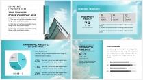 【丽日蓝天】极简高端大气蓝色商务报告年终汇报总结示例6