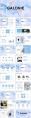 【简约商务】创意水墨现代商务工作总结模板示例3