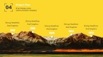【你是真的黄】设计感商务实用多用途模板2示例7