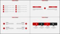 红色杂志风精致排版PPT模板示例4