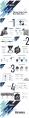 【欧美简约风】商务极简冷调配色数据分析模板示例7