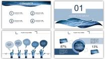 水纹-大气简约通用商务报告策划模板示例3