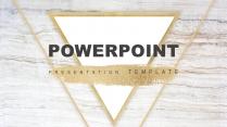 素白铂金系列4-商务总结策划提案通用模板