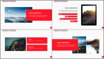 大气美观红色企业公司工作总结PPT模板二示例6