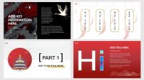 【国潮新中式】红白金搭配 汉字做装饰 手绘风元素 示例3