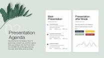 【视觉植物】创意可视化文化时尚高雅文艺多用途模版示例6
