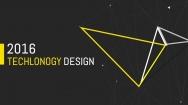 黑黄线条极简精致排版商务通用PPT模板
