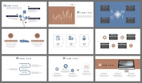【淡雅简洁】杂志风极简柔和色系商务模板示例4