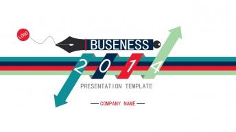 2014【高端·大气·炫丽·多彩】商务模板系列3