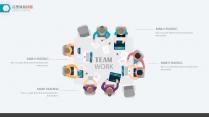 25页精致创业年终总结工作汇报keynote图表示例7