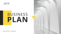 【簡約商務】黃色歐美年終匯報雜志風PPT模板