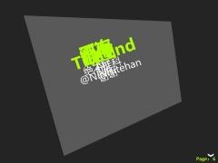 【带动画的那种】单色立体ppt模板示例5