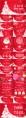 【圣诞新年】红白庆典个性时尚多边形节日拼贴p示例8