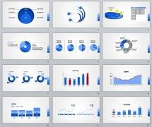 商务数据37套-PPTSTORE高端商务图表系列