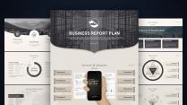 【简素】商务精致大气工作总结汇报模板