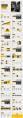 时尚欧美黄灰色纹理质感PPT模板示例4