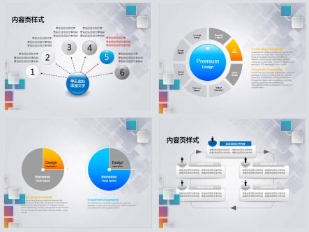 【商务汇报ppt模板(高端设计图表)】-pptstore