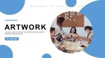 【简约商务】现代时尚工作汇报总结计划模板
