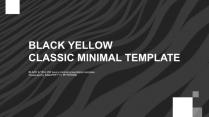 【BLACK&YELLOW】现代感画册【动静双版】