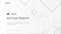 【创意几何】高端灰色总结报告工作计划商务策划模板