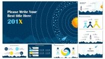 【科技風&簡約】年度總結數據分析報告模板示例3