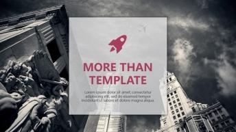 欧美杂志排版简洁高端实用PPT模板30
